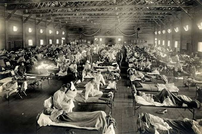 A man made killer flu