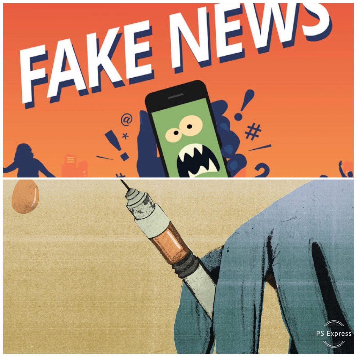 Fake news is not just screwing up our politics but is also causing disease and death…